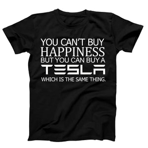 Tesla You Can Not Buy Happiness Men's T-Shirt