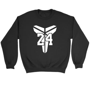 The Black Mamba Kobe Bryant Logo Sweatshirt