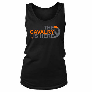 The Cavalry Is Here Overwatch Women's Tank Top