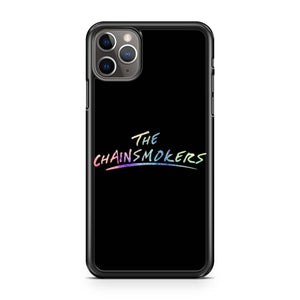 The Chainsmokers Logo Rainbow iPhone 11 Pro Max Case
