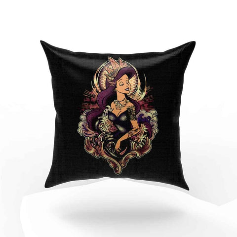 The Dark Mermaid Pillow Case Cover