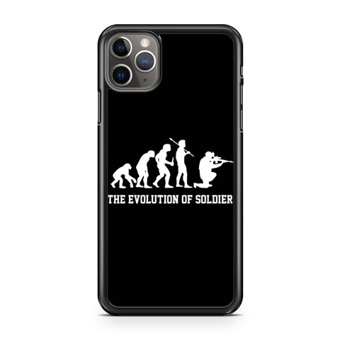 The Evolution Of Soldier iPhone 11 Pro Max Case