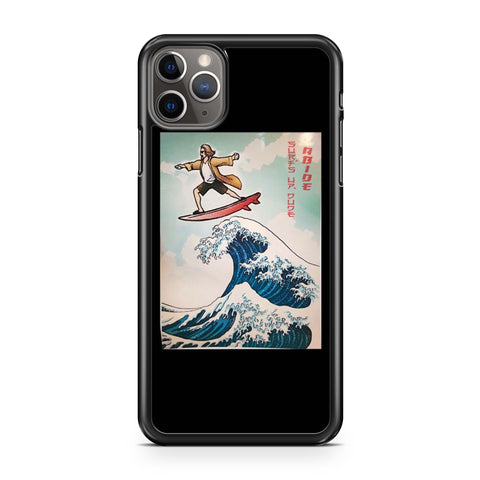 The Great Wave Of  The Big Lebowski iPhone 11 Pro Max Case
