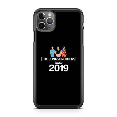 The Jonas Brothers Saved 2019 iPhone 11 Pro Max Case