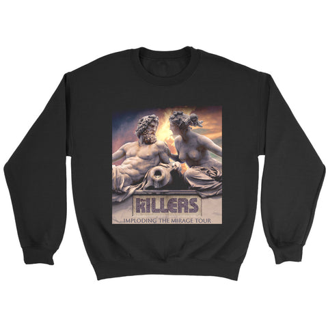 The Killers Imploading The Mirage Tour Sweatshirt