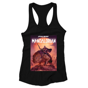 The Mandalorian Star Wars Woman's Racerback Tank Top