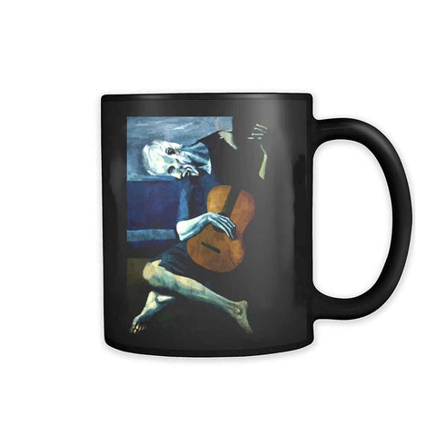 The Old Guitarist By Pablo Picasso 11oz Mug
