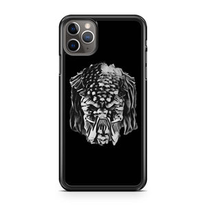The Predator Movie Poster Fan Art Bw iPhone 11 Pro Max Case