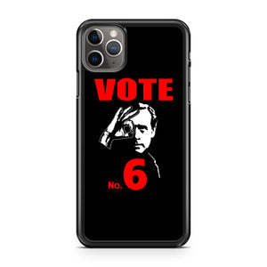 The Prisoner Vote 6 iPhone Case