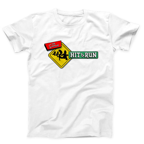 The Simpsons Hit And Run Men's T-Shirt