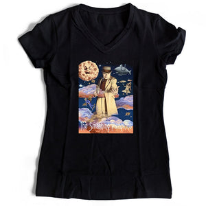 The Smashing Pumpkins Poster Women's V-Neck Tee T-Shirt