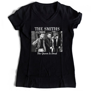 The Smiths Queen Is Dead Women's V-Neck Tee T-Shirt