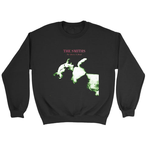 The Smiths The Queen Is Dead Parody Cat Mashup Sweatshirt