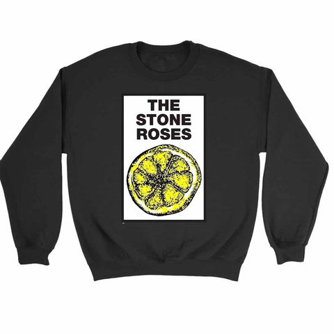 The Stone Roses Lemon 1989 Tour Sweatshirt
