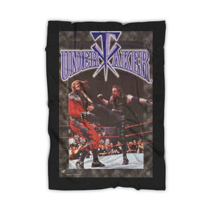 The Undertaker 1998 Wwf Wrestling Blanket