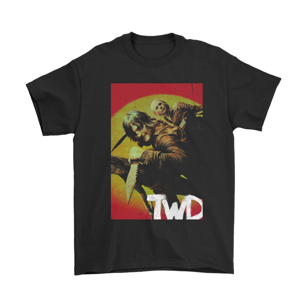 The Walking Dead Season 10 Cover Men's T-Shirt