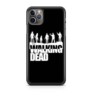 The Walking Dead Silhouette iPhone 11 Pro Max Case