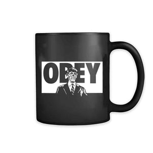 They Live Black Obey 11oz Mug