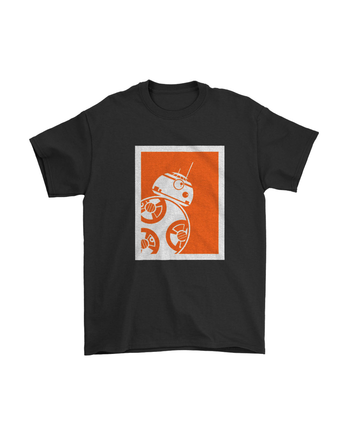 They See Me Rollin Star Wars Bb8 Robot Poster Men's T-Shirt