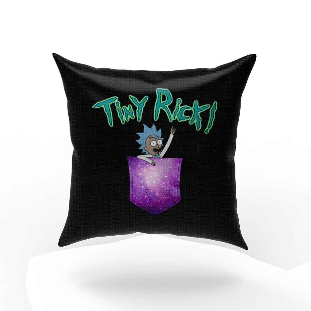 Tiny Rick Space Pocket Rick And Morty Comedy Pillow Case Cover