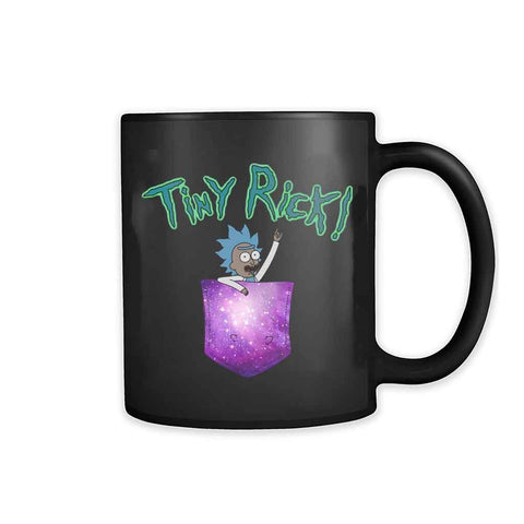 Tiny Rick Space Pocket Rick And Morty Comedy 11oz Mug