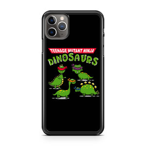 Tmnd Teenage Mutant Ninja Dinosaurs iPhone Case