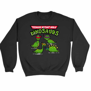 Tmnd Teenage Mutant Ninja Dinosaurs Sweatshirt