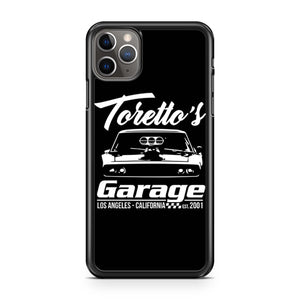 Torettos Garage iPhone 11 Pro Max Case