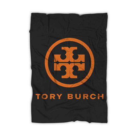 Tory Burch Logo Blanket