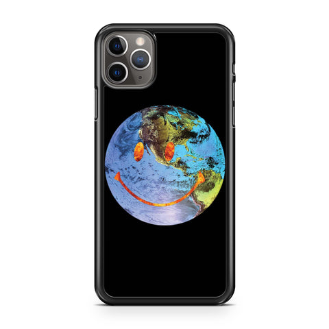 Travis Scott Astroworld Globe Smiley iPhone 11 Pro Max Case
