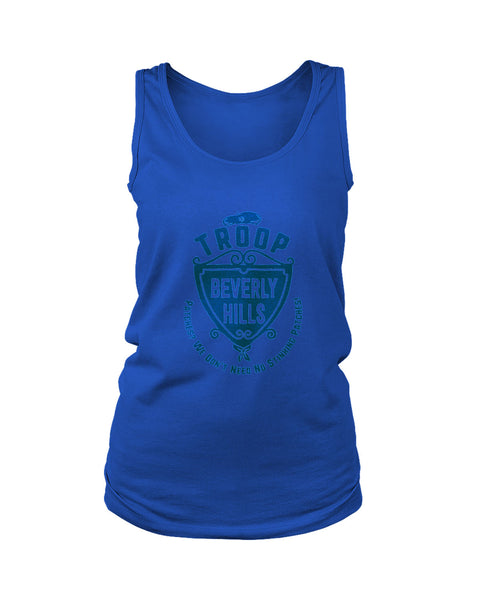 Troop Beverly Hill Patches We Dont Need No Stinking Patches Women's Tank Top