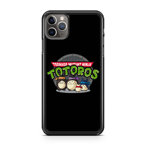Turtle Neighbors Teenage Mutant Ninja Totoros iPhone Case