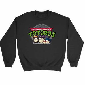 Turtle Neighbors Teenage Mutant Ninja Totoros Sweatshirt