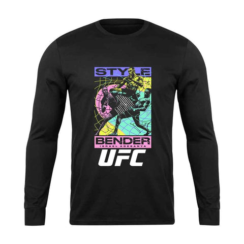Ufc Israel Adesanya Style Bender Team Long Sleeve T-Shirt