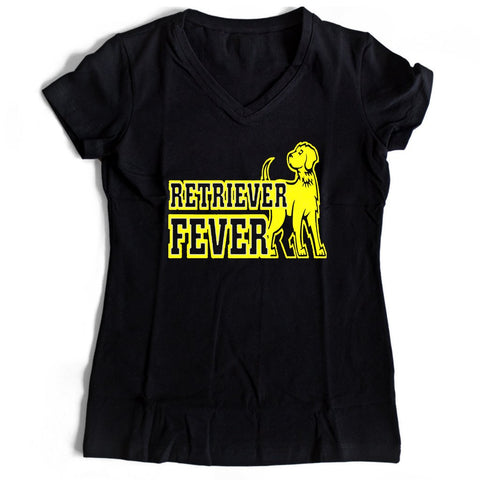 Umbc Basketball Retriever Fever Women's V-Neck Tee T-Shirt