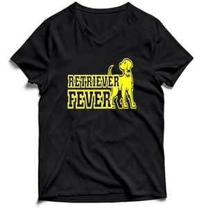 Umbc Basketball Retriever Fever Men's V-Neck Tee T-Shirt