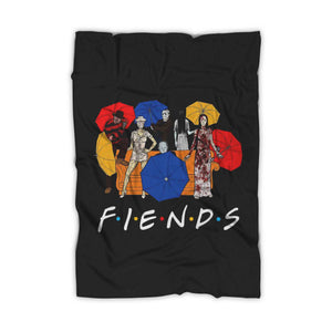 Umberella Horror Friends Halloween Blanket