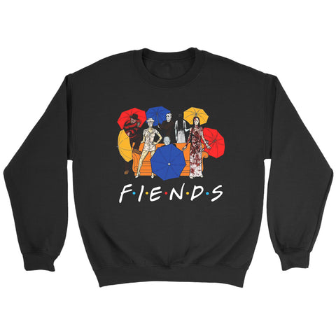Umberella Horror Friends Halloween Sweatshirt