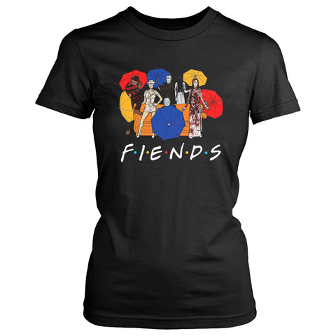 Umberella Horror Friends Halloween Women's T-Shirt