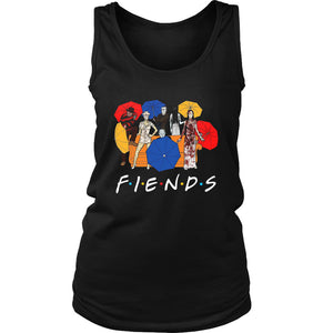 Umberella Horror Friends Halloween Women's Tank Top