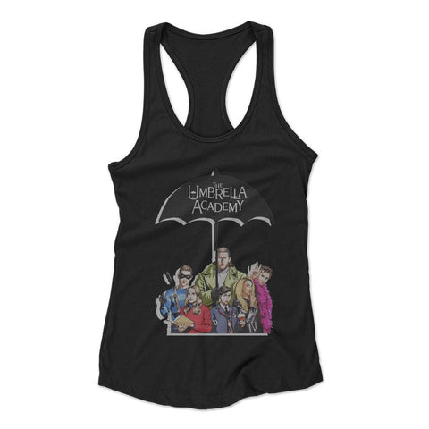 Umbrella Academy Woman's Racerback Tank