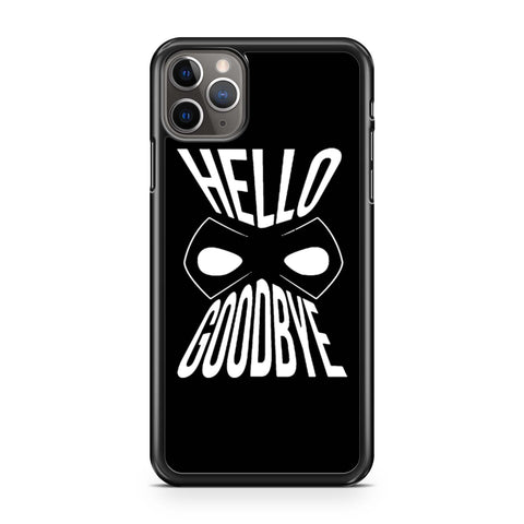 Umbrella Academy Hello Good Bay iPhone 11 Pro Max Case