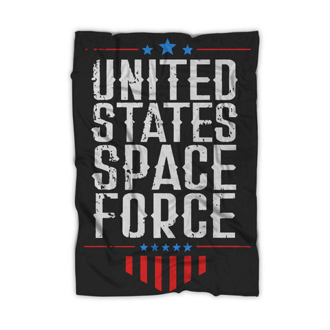 United States Space Force Blanket