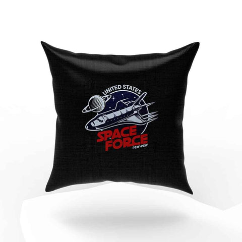 United States Space Force Pew Pew Pillow Case Cover