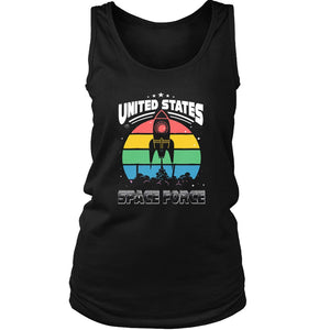 Us United States Space Force Women's Tank Top