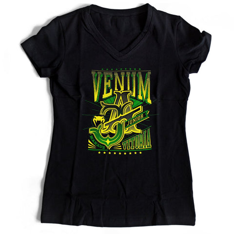 Venum Mens Jose Aldo Vitoria Women's V-Neck Tee T-Shirt