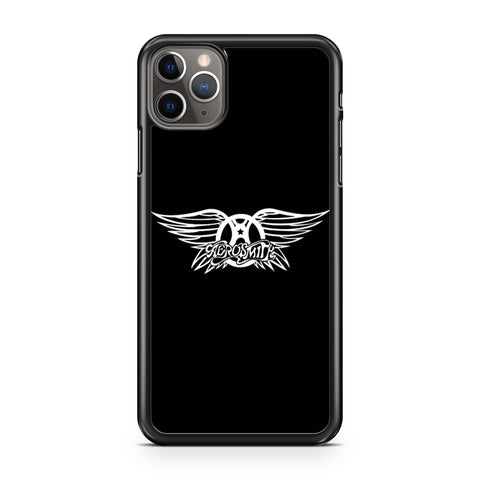Vintage 90s Aerosmith Rock Band Music Logo iPhone 11 Pro Max Case