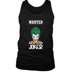 Wanted Joker Men's Tank Top