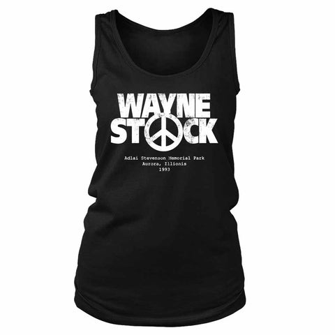 Wayne Is World Wayne Stock Grunge Women's Tank Top
