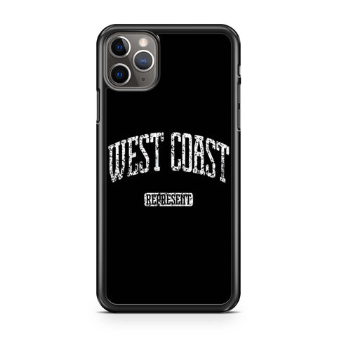 West Coast Represent iPhone 11 Pro Max Case